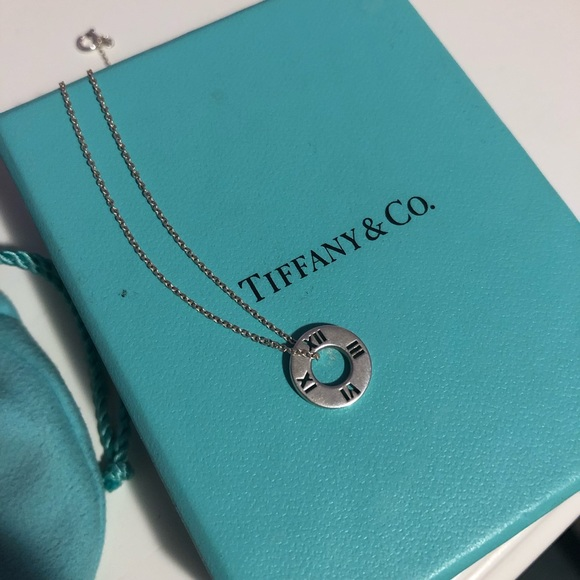 48eacb1cc Tiffany & Co. Sterling Silver Clock Necklace. M_5cd2368129f030b1b964be3d